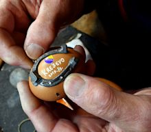 In Bosnia, 'master' blacksmith had to shoe an egg