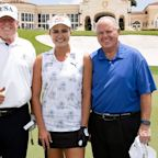 Trump tees it up with Lexi, Limbaugh on Easter weekend