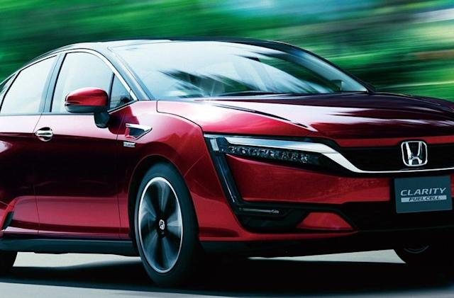 Honda's hydrogen car costs $500 a month, if you can find one