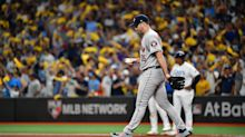 Astros' Justin Verlander yanked early in ALDS Game 4