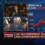 UK government survives no-confidence vote by thin majorit...
