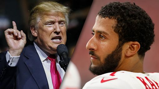 Donald Trump ignores how much he seems to agree with Colin Kaepernick