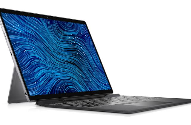 Dell's latest Latitude detachable has a stylish look with thinner bezels