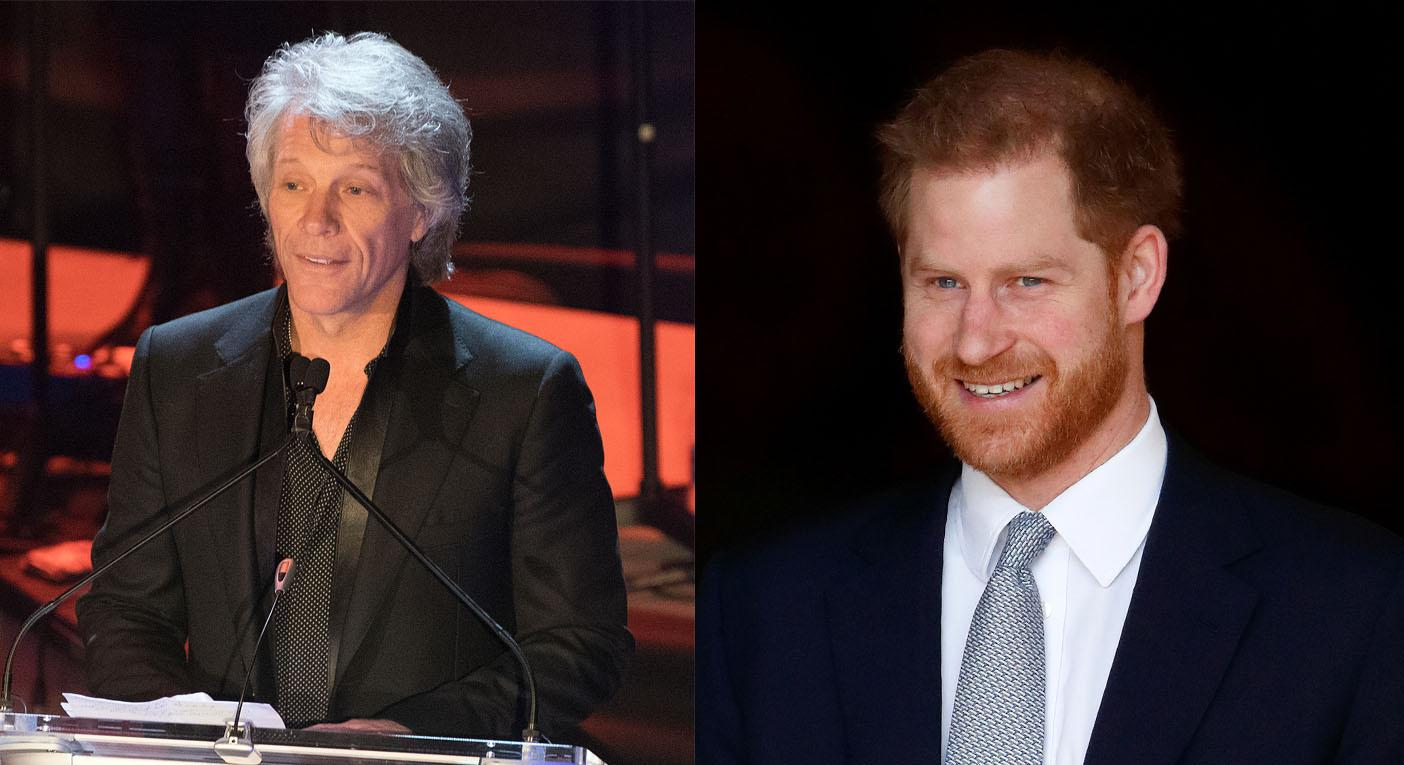 Prince Harry confirms Jon Bon Jovi will record Invictus Games song