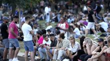 The Latest: Germany records fewest virus cases in 9 months