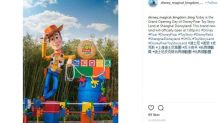 Buzz Lightyear and Woody come alive at Shanghai Disney Resort