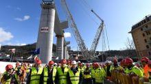 Nuovo ponte Morandi: completate le 18 pile del viadotto
