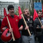 Greeks march to mark anniversary of 1973 student revolt