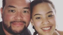 Jon Gosselin fuels speculation about custody drama by posting a photo of Hannah's first day of school solo