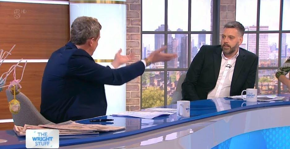 Iain Lee Storms Off 'The Wright Stuff' After Questions ...