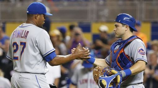 Jeurys Familia joins elite company by converting 50th consecutive save