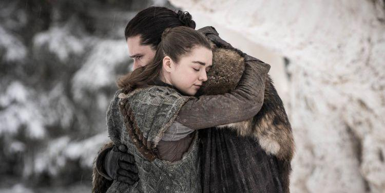 George R.R. Martin Reveals He Originally Planned for Jon Snow and Arya Stark to Fall in Love in 'Game of Thrones'