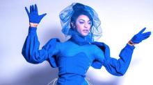 Pabllo Vittar 'previu' a cor de 2020 e investiu com força no azul
