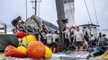 US America's Cup challenger: heart still beats after capsize
