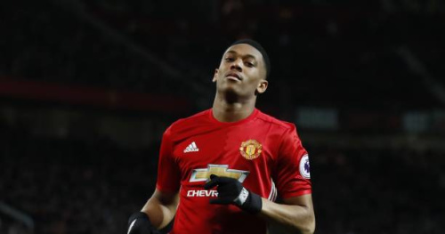 Foot - ANG - MU - Manchester United : Anthony Martial est titulaire à Burnley