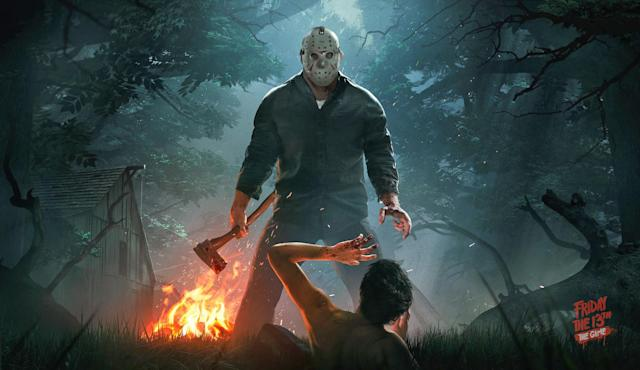 Watch Jason do what he does best in 'Friday the 13th' game