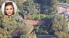 Carrie Fisher's L.A. Mansion Was Home to Many