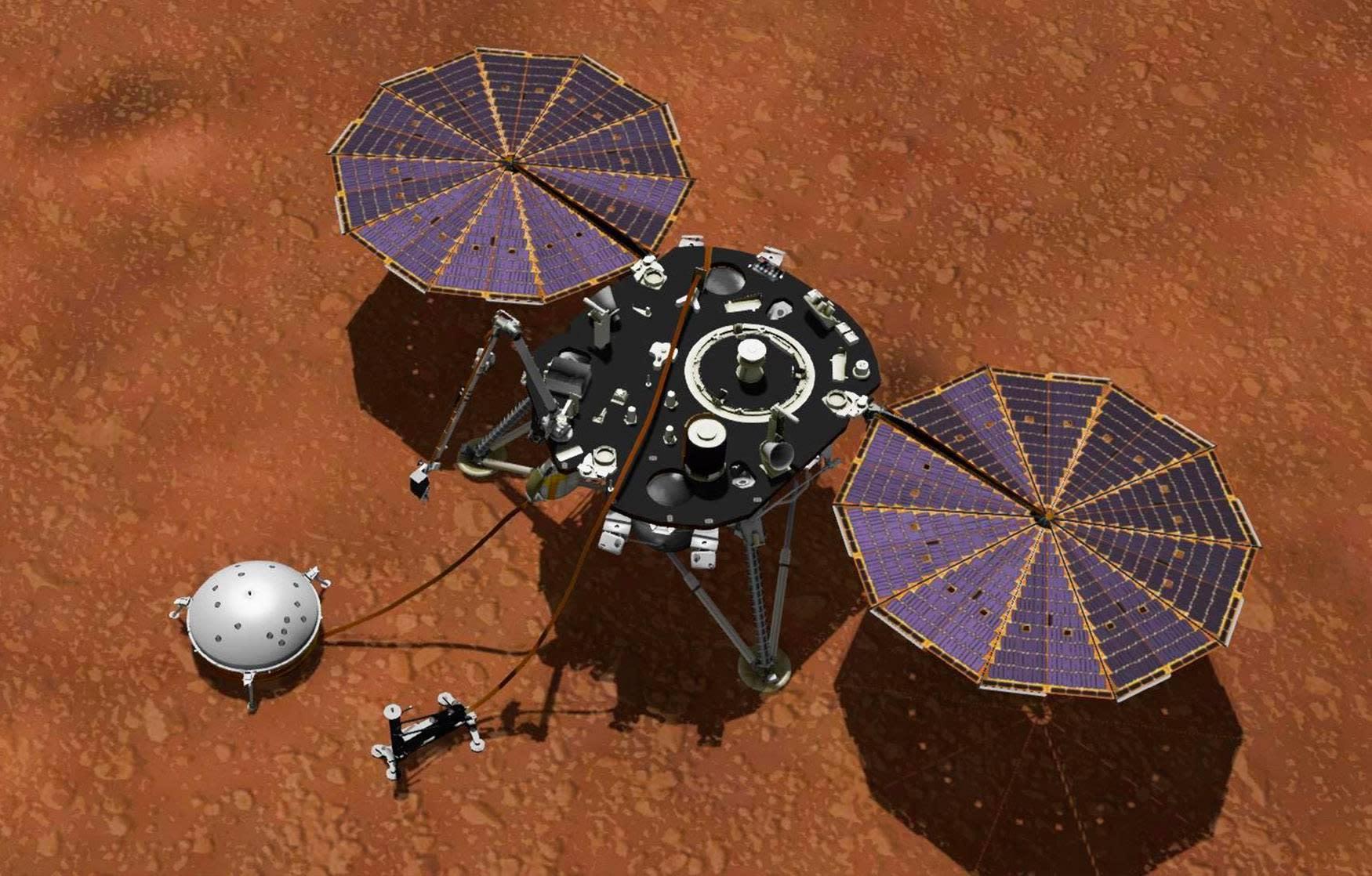 NASA's InSight Mars lander dumped dirt on itself on purpose – Yahoo Entertainment