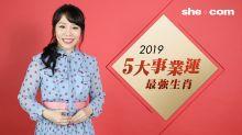 雲文子2019流年運程生肖排行榜-事業篇