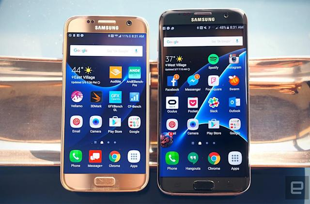 Where to buy Samsung's Galaxy S7 and S7 Edge in the UK