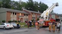 8 displaced in Upper Merion apartment fire