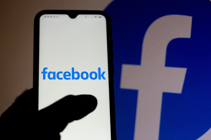 BRAZIL - 2020/07/10: In this photo illustration a Facebook logo seen displayed on a smartphone. (Photo Illustration by Rafael Henrique/SOPA Images/LightRocket via Getty Images)