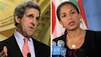 Report: Obama considers Rice, Kerry for Cabinet positions