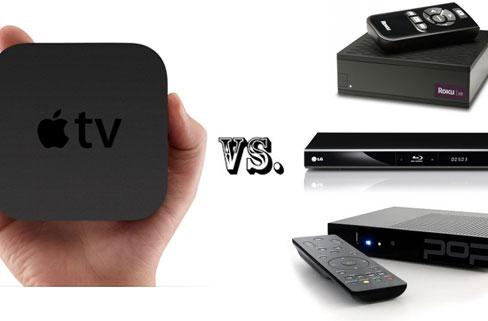 Apple TV vs. the competition -- how does it stack up?