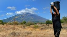 Food aid, face masks dispatched to Bali as 75,000 flee volcano