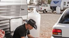 While Wall Street Fights Over PG&E, Fire Victims Are Living in Trailers