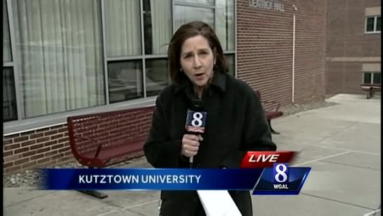 Kutztown University official talks with News 8