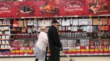 UK's big four grocers suffer Christmas hangover after sales fall-Kantar