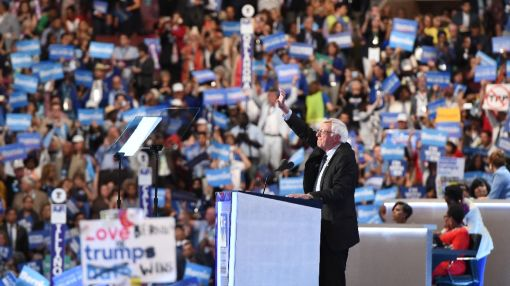 Obama, Sanders make case for Clinton at chaotic convention