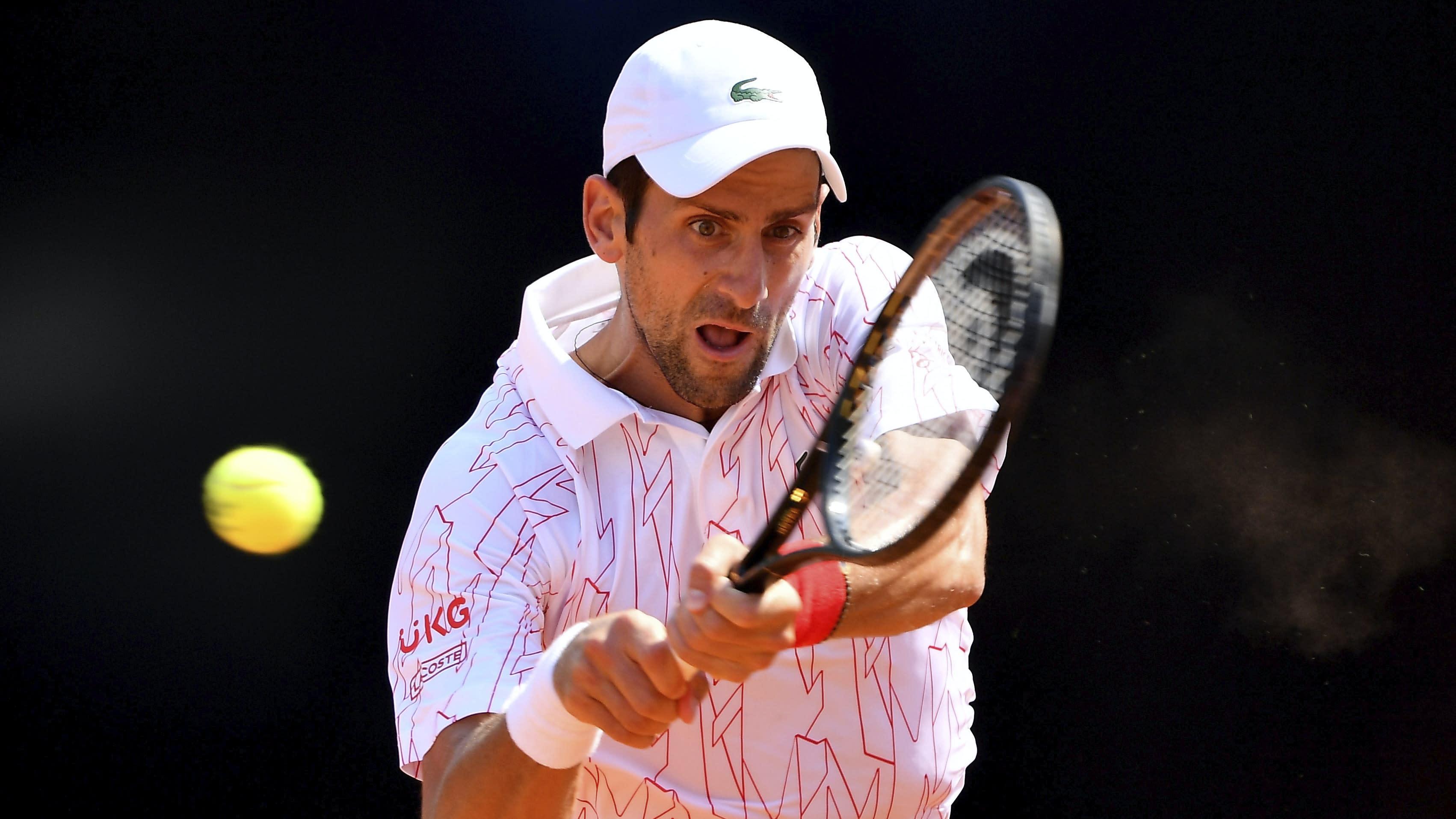 Novak Djokovic claims fifth Italian Open title with win over Diego Schwartzman