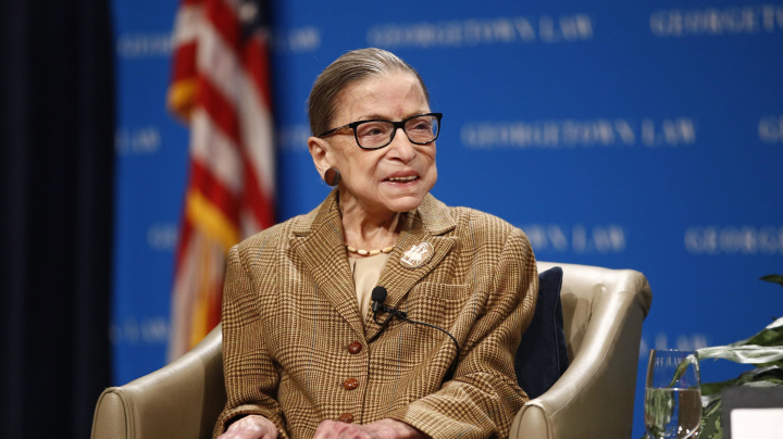 Ginsburg made statement about election before death