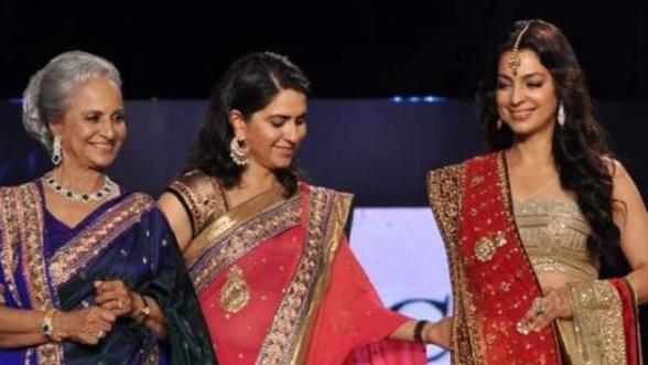 Celebs ramp walk for cancer patients