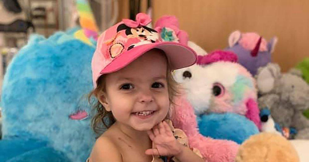 This 2 Year Old Was Diagnosed With A Rare Form Of Ovarian Cancer