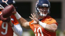 Mitchell Trubisky is drawing rave reviews after first minicamp