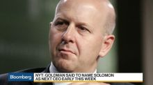 Goldman Sachs Plans to Name Solomon as CEO This Week, NYT Says