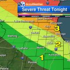 Severe storms could hit Chicago area overnight