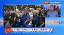 Honey Badger's health battle