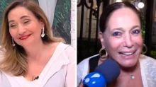 """Susana Vieira ataca Sônia Abrão na TV: """"Deixa de ser falsa comigo"""""""