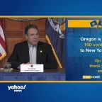 Cuomo announces Oregon is sending ventilators to N.Y.