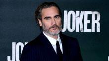 Joaquin Phoenix teased online for tuxedo pledge