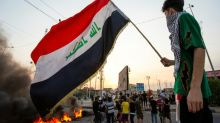 Two protesters in first Iraq deaths under new PM: medics