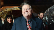 Harry Potter star Robbie Coltrane appears in wheelchair as he battles 'constant pain' of osteoarthritis