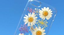 Ring In Spring With These Phone Cases Covered In Real Flowers