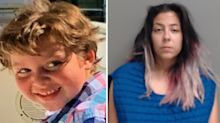 Girlfriend charged after boy, 6, 'found dead in tote bag'