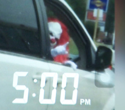 One Of The Creepy Clowns Stalking America Has Been Identified, And He's Undeniably Harmless