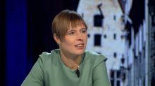 """Kersti Kaljulaid : """"En Estonie, tous les services publics sont sur internet"""""""